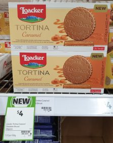 Loacker 126g Tortina Caramel