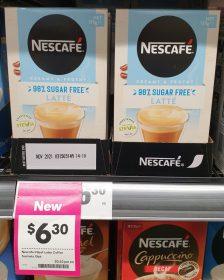 Nescafe 135g Coffee Latte