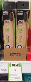 Oral B 1 Pack Toothbrush Bamboo Charcoal Soft