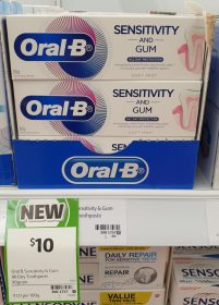 Oral B 90g Toothpaste Sensitivity And Gum All Day Protection