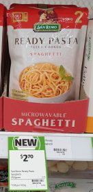 San Remo 250g Ready Pasta Spaghetti 1