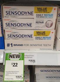 Sensodyne 100g Toothpaste Daily Repair Whitening