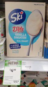 Ski 900g Dlite Yoghurt Vanilla Sensation