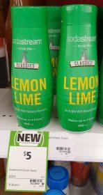 Soda Sream 440mL Drink Mix Classics Lemon Lime