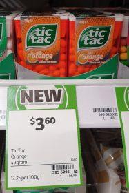 Tic Tac 49g Orange