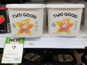 Two Good 700g Yoghurt Vanilla Flavoured