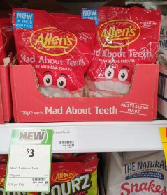 Allens 170g Mad About Teeth