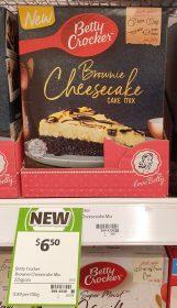 Betty Crocker 225g Cake Mix Brownie Cheesecake