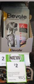 Elevate 100g Dog Food Chicken Chunks With Peas Sweet Potato In Gravy