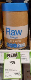 Amazonia 390g Raw Protein Slim Tone