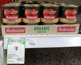 Ardmona 400g Tomatoes Finely Crushed