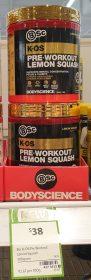 BSc 300g K OS Pre Workout Lemon Squash