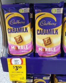 Cadbury 173g Caramilk Marble