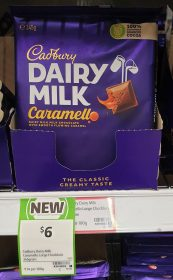 Cadbury 345g Dairy Milk Chocolate Caramello