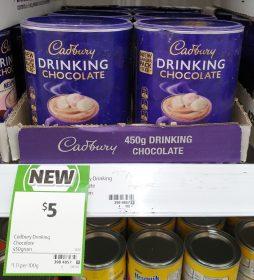 Cadbury 450g Drinking Chocolate