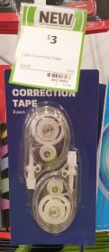 Coles 2 Pack Correction Tape