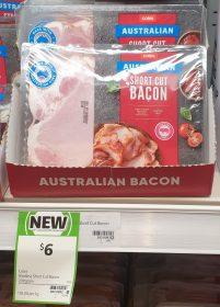 Coles 200g Bacon Short Cut 1