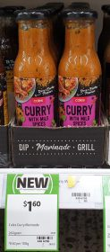 Coles 260g Marinade Curry With Mild Spices