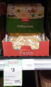 Coles 300g Pasta Fettuccine 1