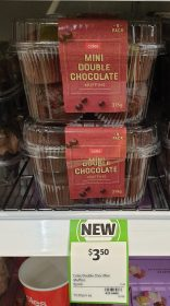 Coles 315g Muffins Double Chocolate Mini