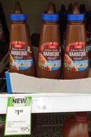 Coles 500mL Barbeque Sauce 30 Less Sugar