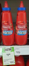 Coles 500mL Tomato Sauce 30 Less Sugar