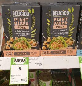 Deliciou 140g Plant Based Pork Ground Plant Mince