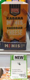 Don 57g Kabana Minis And Cheddar Cheese 1