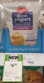 EasiYo 230g Yogurt Greek Style Passionfruit