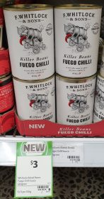F Whitlock Sons 420g Chilli Fuego