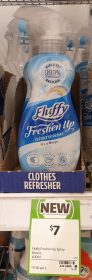 Fluffy 400mL Freshen Up Clothes Refresher Breeze