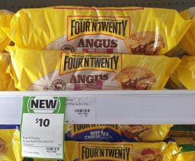 Four N Twenty 700g Pie Angus Beef Cheese Bacon 1