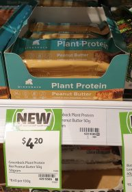 Greenback 50g Plant Protein Peanut Butter