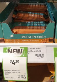 Greenback 50g Plant Protein Salted Caramel