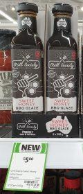 Grill Society 280g BBQ Glaze Sweet Honey