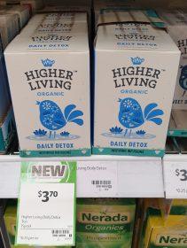 Higher Living 15 Pack Tea Daily Detox