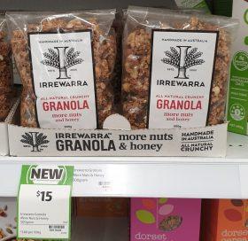 Irrewarra 500g Granola More Nuts And Honey