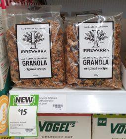 Irrewarra 500g Granola Original Recipe
