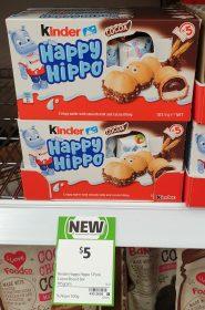 Kinder 103.5g Happy Hippo Cocoa
