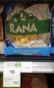 La Famiglia Rana 565g Tortellini Ricotta Spinach 1