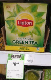 Lipton 100 Pack Tea Green