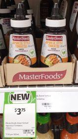 MasterFoods 250mL Sauce Japanese Style Tonkatsu