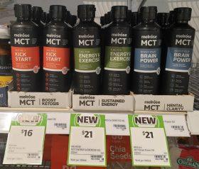 Melrose 250mL MCT Kick Start Energy Exercise Brain Power
