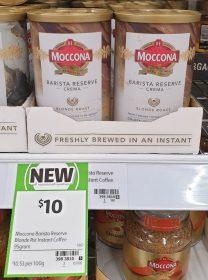 Moccona 95g Barista Reserve Crema Blonde Roast