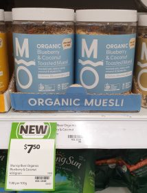 Murray River Organics 400g Muesli Blueberry Coconut Toasted