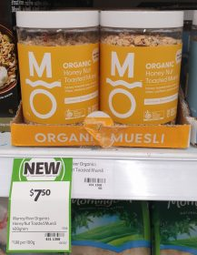 Murray River Organics 400g Muesli Honey Nut Toasted