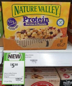 Nature Valley 160g Bar Berries Peanuts Protein