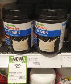Naturopathica 385g Fat Blaster Weight Loss Shake For Men Vanilla