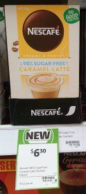 Nescafe 135g Sachets Caramel Latte