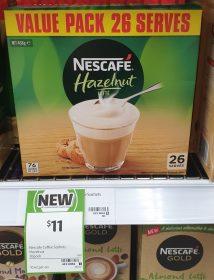 Nescafe 468g Coffee Sachets Hazelnut Late
